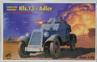 RPM 1/72 72312 Kfz.13 Radio Car